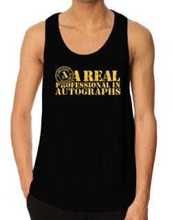 A Real Professional In Autographs Tank Top