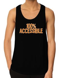 100% Accessible Tank Top
