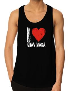 I Love Krav Maga Tank Top