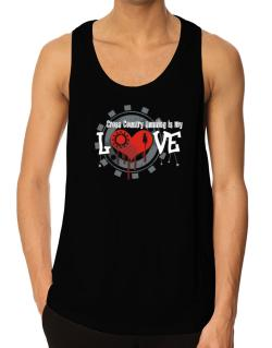 Cross Country Running Is My Love Tank Top