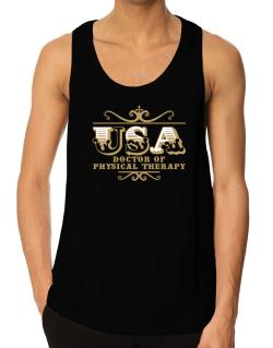 Usa Doctor Of Physical Therapy Tank Top