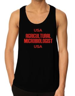 Usa Agricultural Microbiologist Usa Tank Top