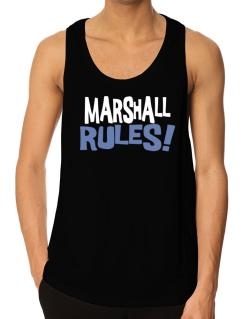 Marshall Rules! Tank Top