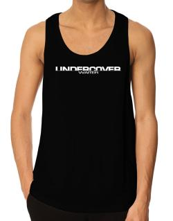 Undercover Waiter Tank Top