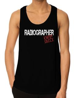 Radiographer - Off Duty Tank Top