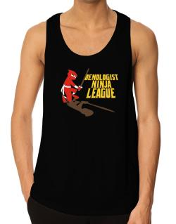 Oenologist Ninja League Tank Top