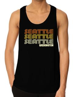 Seattle State Tank Top