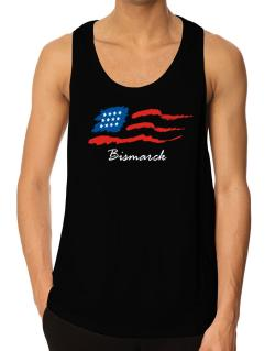 Bismarck - Us Flag Tank Top