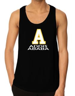 """ Addis Ababa - Initial "" Tank Top"