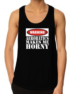 Aerobatics Horny Tank Top