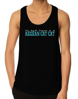 My Best Friend Is An Aegean Cat Tank Top