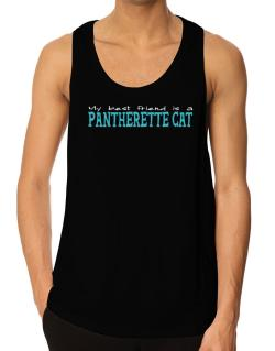My Best Friend Is A Pantherette Tank Top