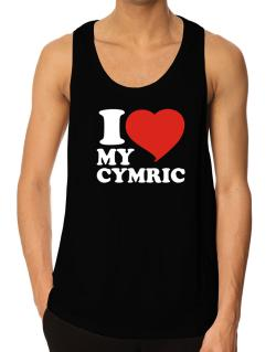 I Love My Cymric Tank Top