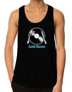 Acid House - Lp Tank Top