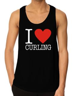 I Love Curling Classic Tank Top