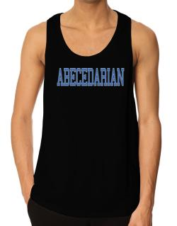 Abecedarian - Simple Athletic Tank Top