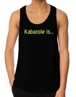 Kabarole Is Tank Top