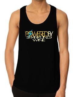 Powered By Sparkling Wine Tank Top