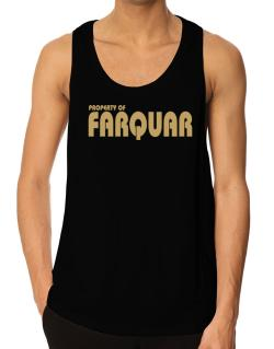 Property Of Farquar Tank Top