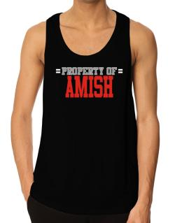 """ Property of Amish "" Tank Top"