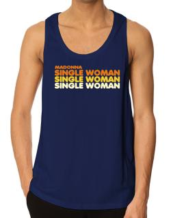 Madonna Single Woman Tank Top