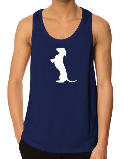 Begging Dachshund Tank Top