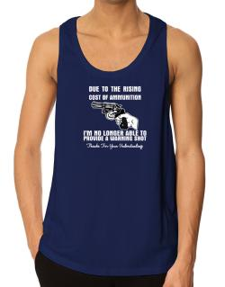 Warning shot Tank Top