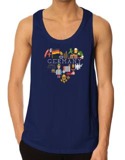 I love Germany Tank Top