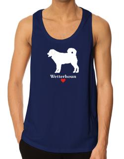 Wetterhoun love Tank Top