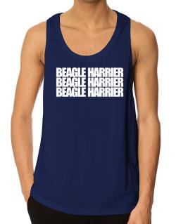 Beagle Harrier three words Tank Top