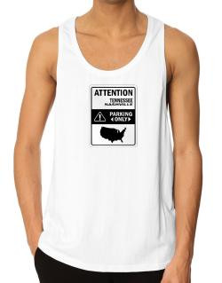 Attention Nashville Parking Only - Map  Tank Top