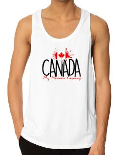 Canada my favorite country Tank Top