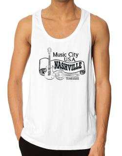 Music city Usa Nashville Tennessee Tank Top
