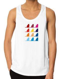 Colorful Russian Tank Top