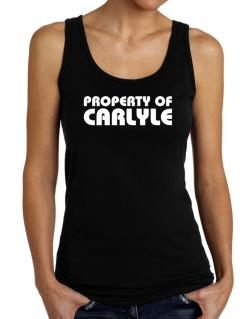 """ Property of Carlyle "" Tank Top Women"