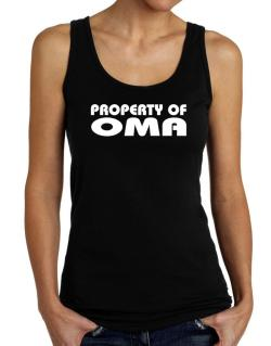 """ Property of Oma "" Tank Top Women"