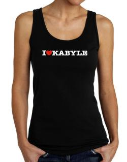 I Love Kabyle Tank Top Women
