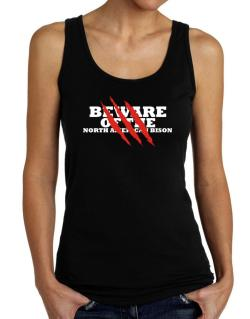 Beware Of The North American Bison Tank Top Women