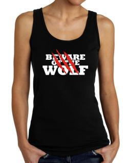Beware Of The Wolf Tank Top Women