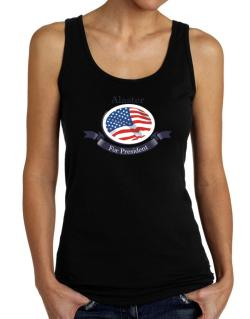 Alaster For President Tank Top Women
