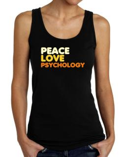 Peace Love Psychology Tank Top Women