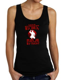 Hand Engraver By Day, Ninja By Night Tank Top Women