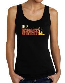 Soup Drinker Tank Top Women