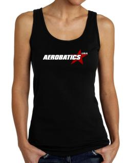 Aerobatics Usa Star Tank Top Women