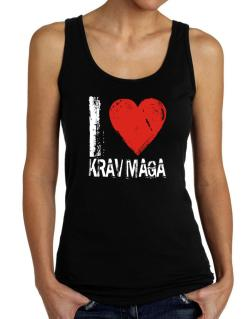 I Love Krav Maga Tank Top Women