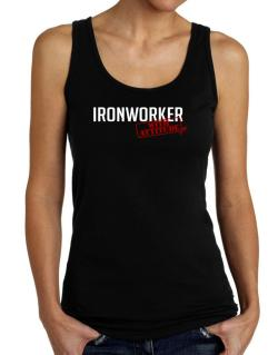 Ironworker With Attitude Tank Top Women