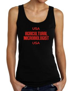 Usa Agricultural Microbiologist Usa Tank Top Women