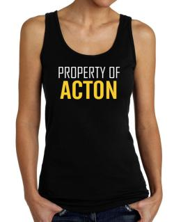 Property Of Acton Tank Top Women