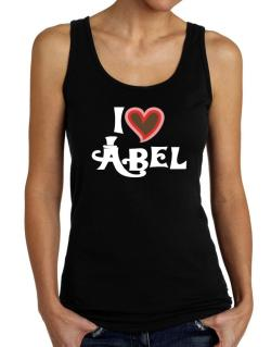 I Love Abel Tank Top Women