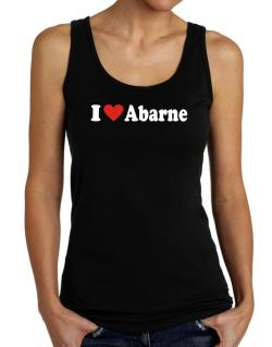 I Love Abarne Tank Top Women